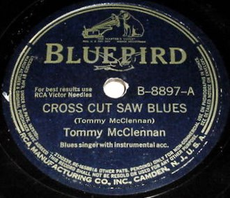 Crosscut Saw (song) - Image: Cross Cut Saw Blues single cover