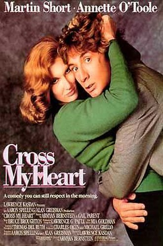 Cross My Heart (1987 film) - Theatrical release poster