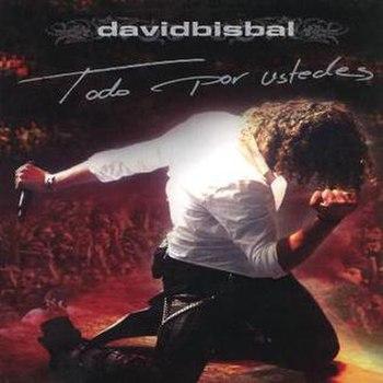 David Bisbal-Todo Por Ustedes-Frontal-1-