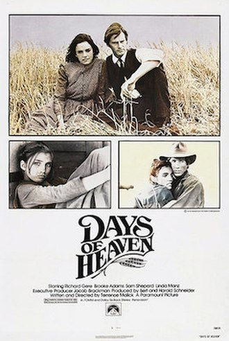 Days of Heaven - Theatrical release poster