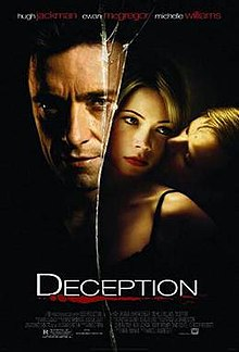 Deception (2008 film) Deception 2008 film Wikipedia the free encyclopedia 220x324 Movie-index.com