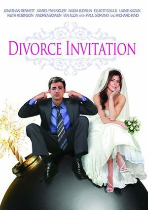 Divorce Invitation - Theatrical released poster