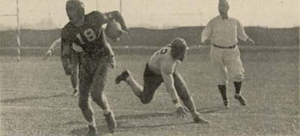 Don Zimmerman (halfback) - Image: Don Zimmermanpuntreturn