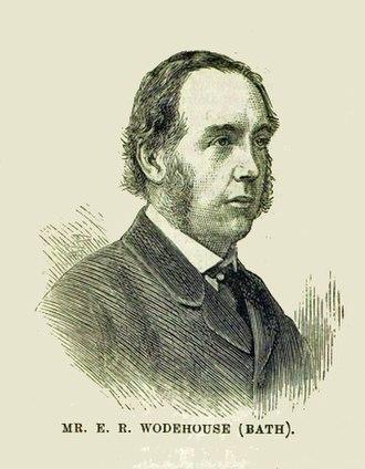 Edmond Wodehouse - Wodehouse in 1880