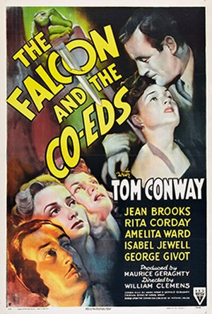 The Falcon and the Co-eds - Film poster