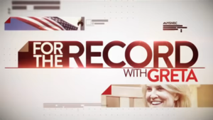 For the Record with Greta - Current title card