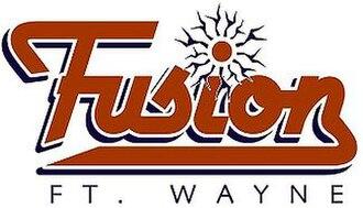 Fort Wayne Fusion - Image: Fort Wayne Fusionaf 2logo