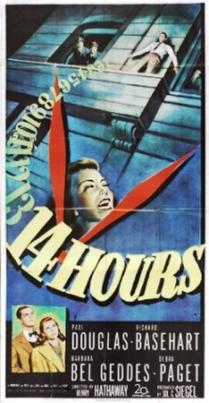 Fourteen Hours - Theatrical release poster