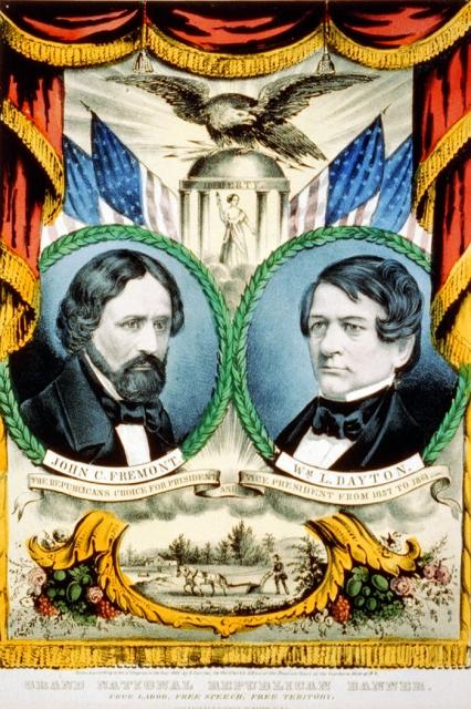 Frémont-Dayton 1856Poster