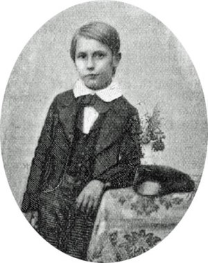 Frederick Bridge - Bridge aged nine