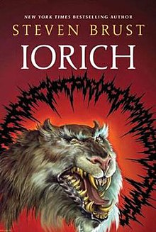 Front cover of Iorich by Steven Brust.jpg