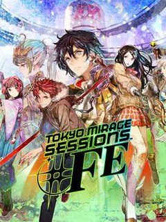 <i>Tokyo Mirage Sessions ♯FE</i> 2015 role-playing game developed by Atlus and published by Nintendo