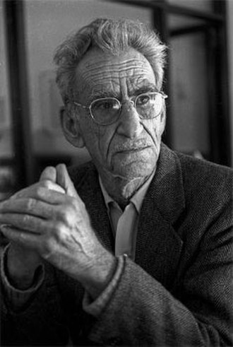 George Oppen - December 1980 Berkeley, CA (Photo by Richard Friedman)