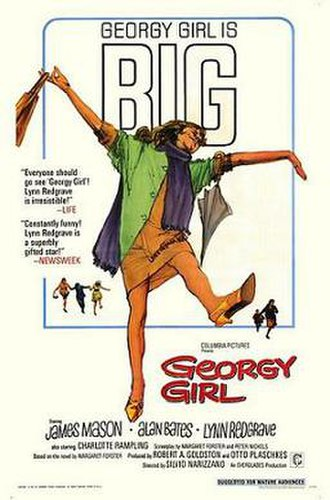 Georgy Girl - Promotional film poster