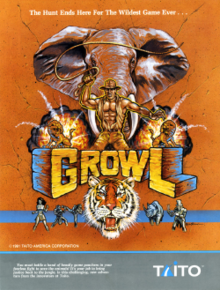 Growl (video game) - Wikipedia