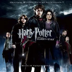 Harry Potter and the Goblet of Fire (soundtrack) - Image: Harry Potter and the Goblet of Fire Soundtrack
