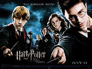 Harry Potter and the Order of the Phoenix (film) - Theatrical release poster