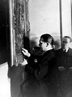 German art plunderer and dealer on behalf of the Nazis, Director of the Goering Collection
