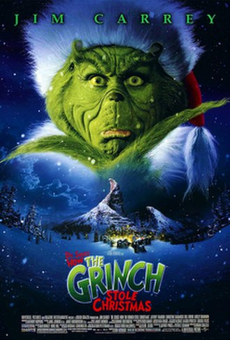 Dr. Seuss' How the Grinch Stole Christmas (2000 film) - Theatrical release poster
