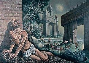 Peter Howson - Judas, 2002.