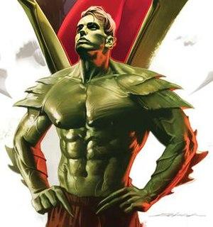 Hulkling Marvel Comics superhero