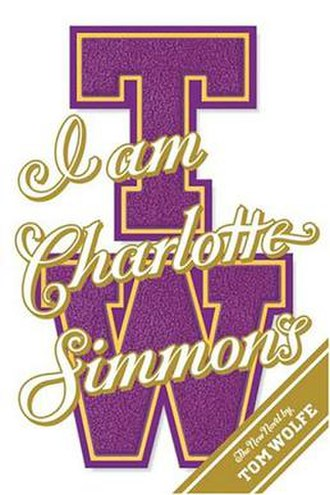 I Am Charlotte Simmons - 1st edition cover
