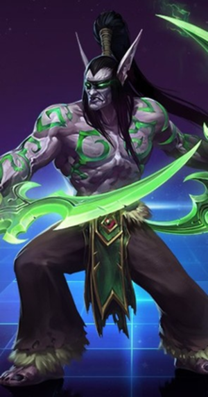 World of Warcraft: Illidan - Illidan Stormrage in Heroes of the Storm