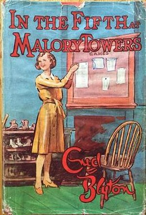 In the Fifth at Malory Towers - First edition dust jacket