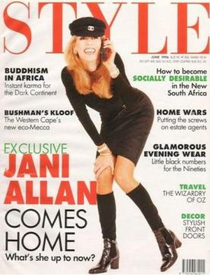 Style (magazine) - June 1996 cover of Style