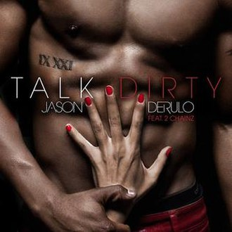Jason Derulo featuring 2 Chainz — Talk Dirty (studio acapella)