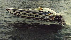 Jimmy Cazzani - Cazzani's speedboat