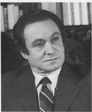 John Rewald - Portrait of John Rewald, circa 1973