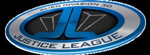 Justice League: Alien Invasion 3D - Image: Justice League Alien Invasion 3D logo