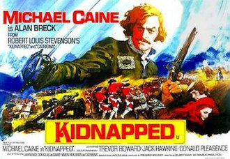 Kidnapped (1971 film) - Image: Kidnapped 1971 UK poster