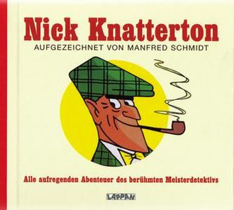 Nick Knatterton - Cover of a German collected edition of Nick Knatterton comics.