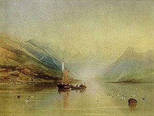 Copley Fielding - Image: LAKE SCENE by Copley Fielding