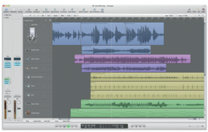 Logic Pro, part of Logic Studio.