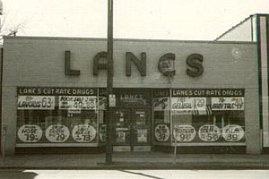 Lane Drug - Image: Lanes 3413 Monroe 1965