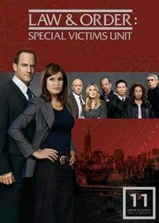 <i>Law & Order: Special Victims Unit</i> (season 11) Season of television series Law & Order: Special Victims Unit