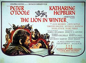 The Lion in Winter (1968 film) - Theatrical release poster