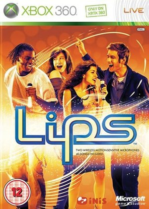 Lips (video game) - Image: Lips Video Game Cover