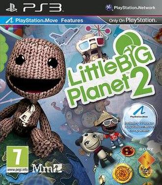 LittleBigPlanet 2 - LittleBigPlanet 2 European box art