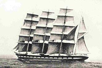 Loch Torridon - Loch Torridon, 1881 clipper