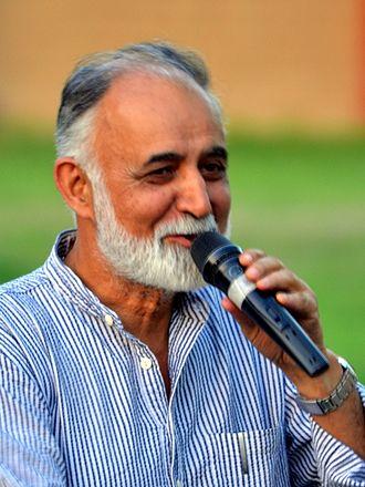 M. K. Raina - M. K. Raina, at IGNCA, Delhi