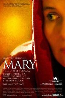 <i>Mary</i> (2005 film) 2005 drama thriller film directed by Abel Ferrara
