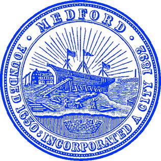 Official seal of Medford, Massachusetts