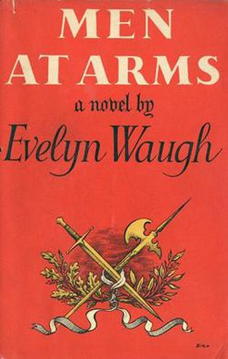 Men at Arms (Waugh novel) - First edition (publ. Chapman & Hall)