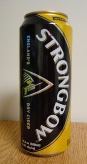 Strongbow (cider) - Previously available, now discontinued, United States canned version.