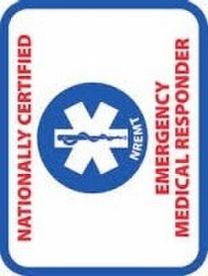 Emergency medical responder - EMR patch of the NREMT