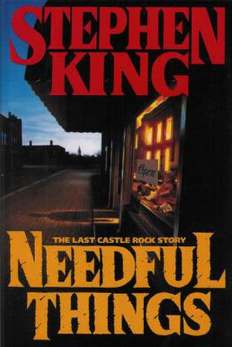 Needful Things - First edition cover